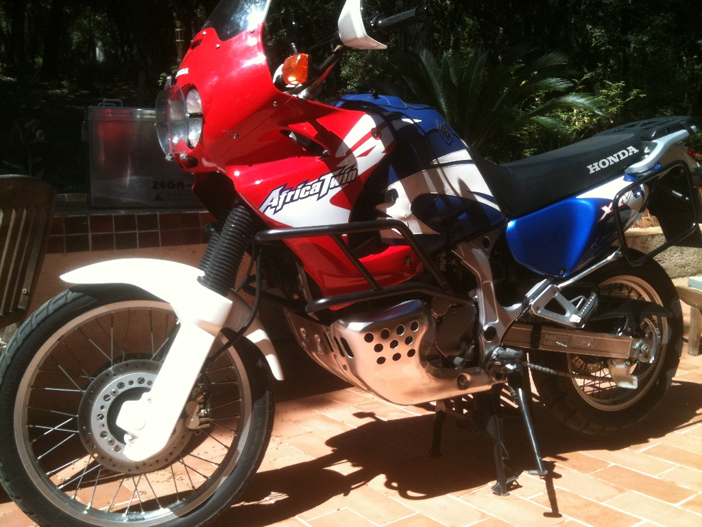 Moto HONDA XRV 750 Africa Twin RD04  occasion