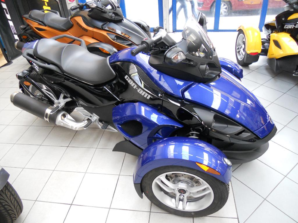 Moto CAN-AM Spyder rs se5 occasion