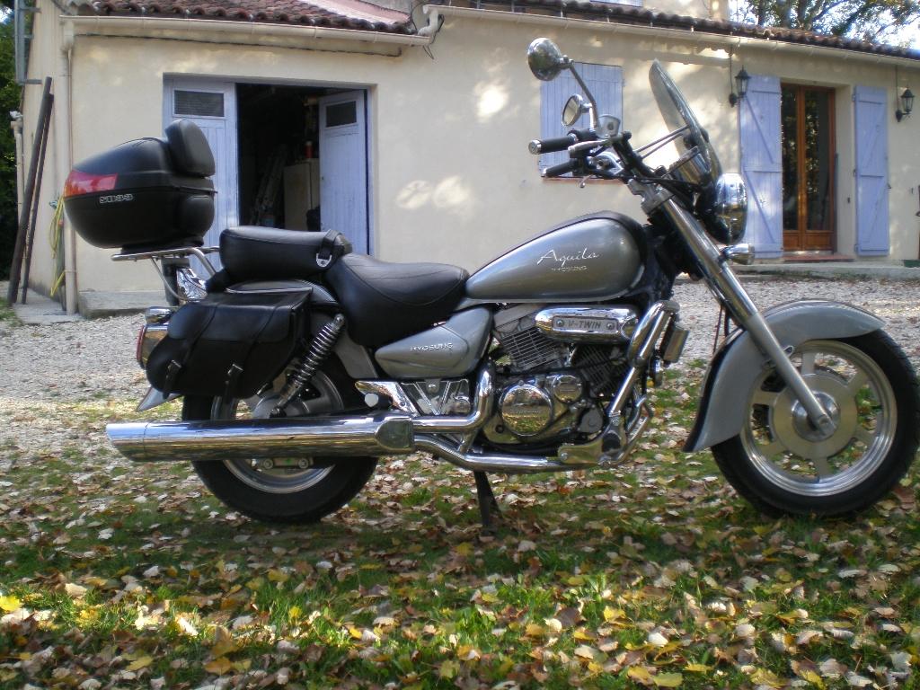 annonce moto hyosung aquila 125 occasion de 2008