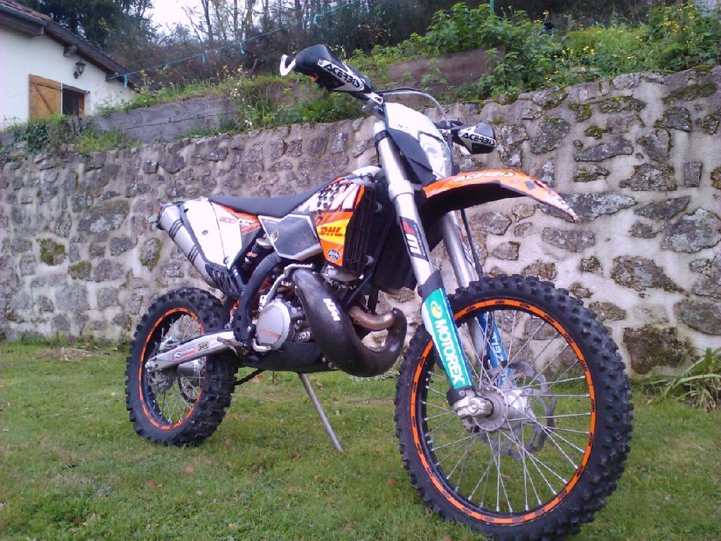 annonce moto ktm 300 exc occasion de 2011