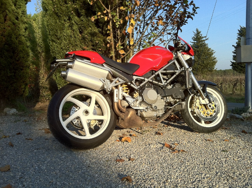 Moto DUCATI Monster S4R  occasion