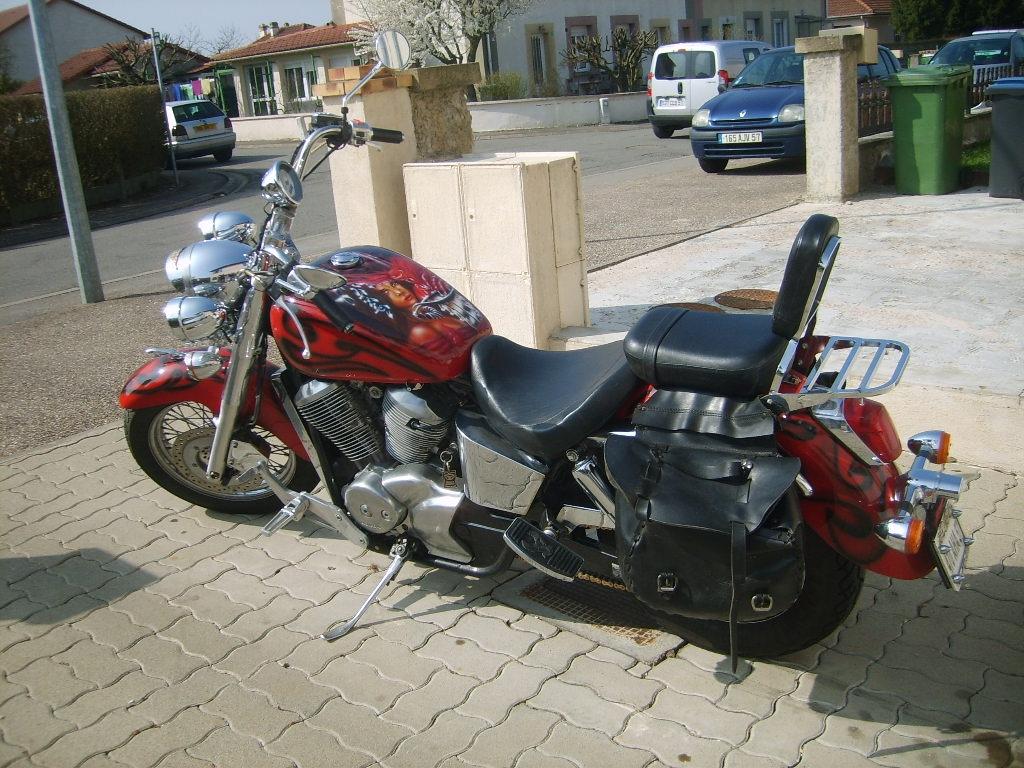 annonce moto honda vt 750 occasion de 1999 57 moselle guenange. Black Bedroom Furniture Sets. Home Design Ideas