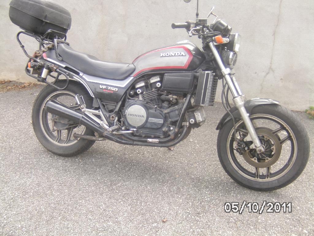 annonce moto honda vf 750 s occasion de 1985