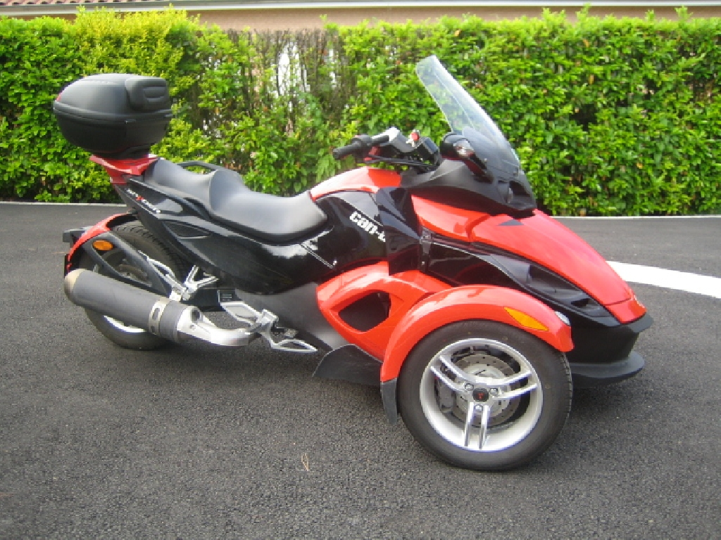 Moto CAN-AM Spyder SE 5 occasion