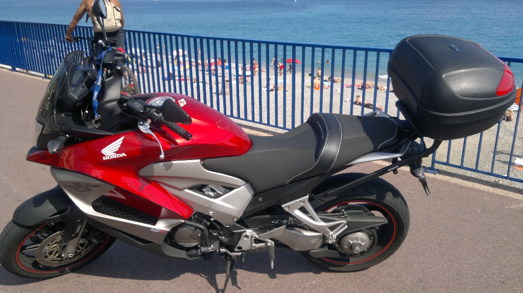 moto honda occasion nice