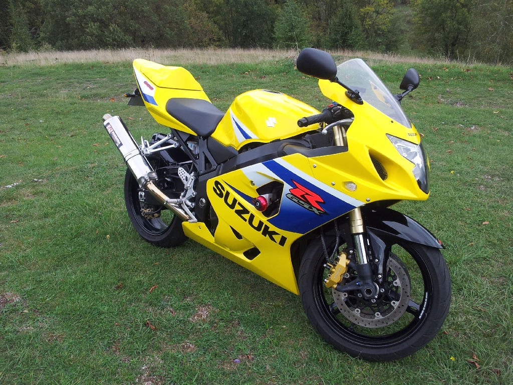 Moto SUZUKI GSX-R 600 20th occasion