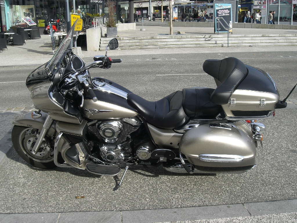 annonce moto kawasaki vn 1700 voyager occasion de 2009