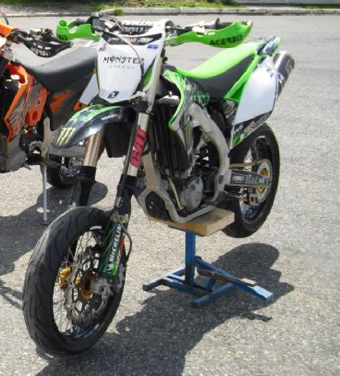 annonce moto kawasaki kx 450 f occasion de 2009 47 lot. Black Bedroom Furniture Sets. Home Design Ideas