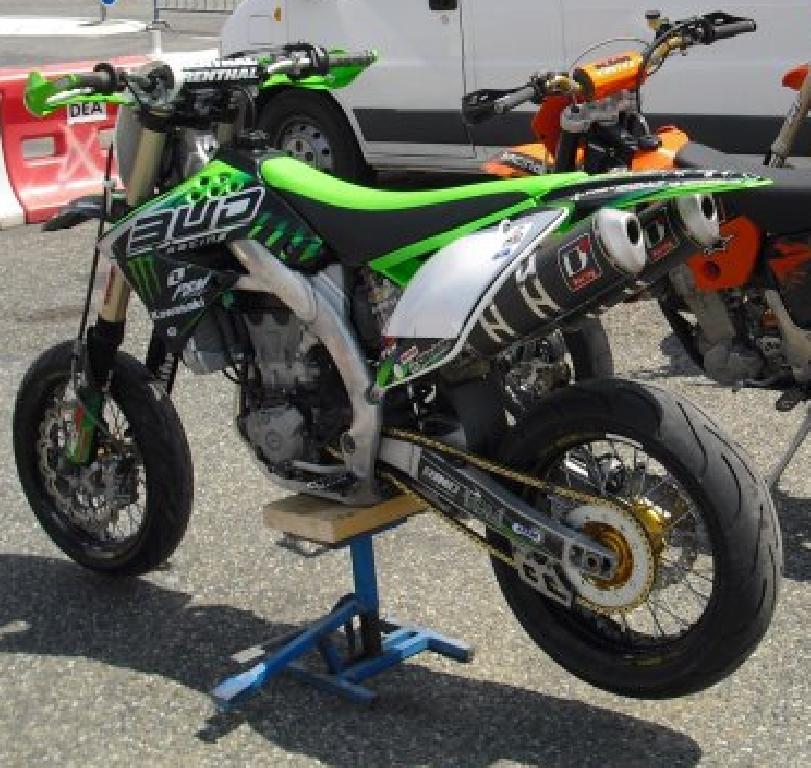 annonce moto kawasaki kx 450 f occasion de 2009
