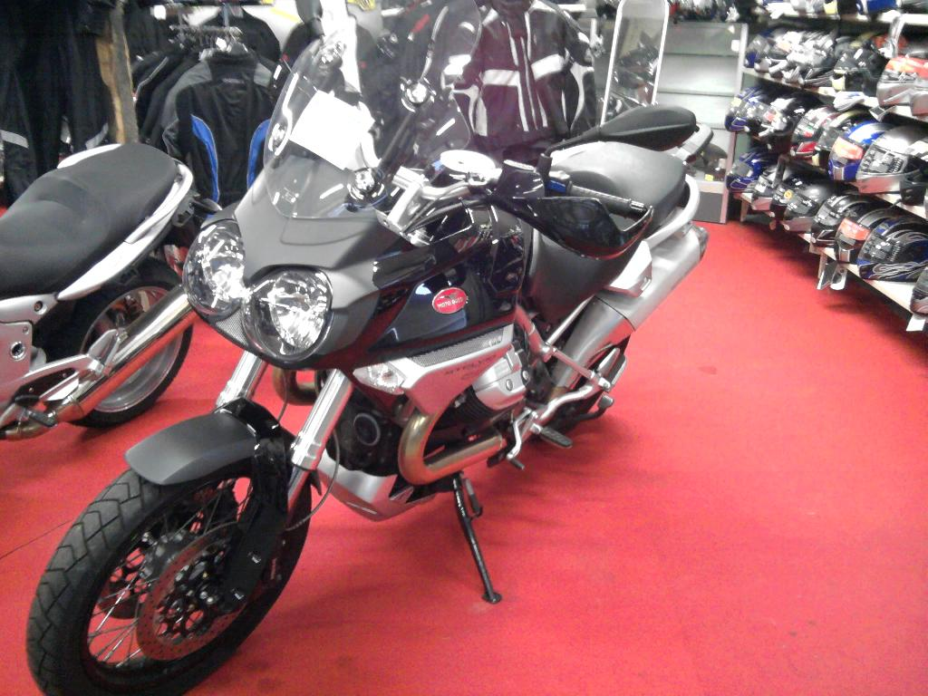 MOTO GUZZI Stelvio 1200  2008 photo 2